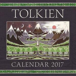 Tolkien Calendar 2017 - J R R Tolkien - cover