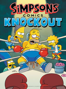 Ebook in inglese Simpsons Comics Knockout Groening, Matt