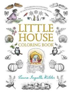 Little House Coloring Book - Laura Ingalls Wilder - cover