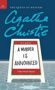 A Murder Is Announced - Agatha Christie - cover