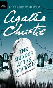 The Murder at the Vicarage - Agatha Christie - cover