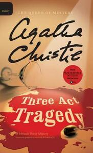 Three ACT Tragedy - Agatha Christie - cover