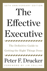 Ebook in inglese The Effective Executive Drucker, Peter F.