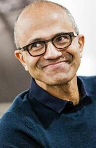 Hit Refresh: The Quest to Rediscover Microsoft's Soul and Imagine a Better Future for Everyone - Satya Nadella,Greg Shaw,Jill Tracie Nichols - cover