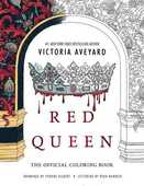Libro in inglese Red Queen: The Official Coloring Book Victoria Aveyard