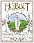Libro in inglese The Hobbit Movie Trilogy: Heroes and Villains Coloring Book
