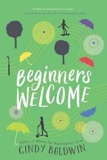 Beginners Welcome - Cindy Baldwin - cover