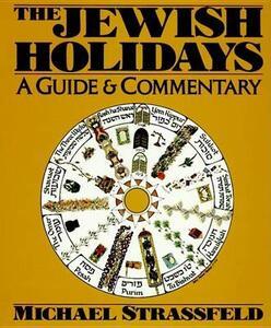 The Jewish Holidays - Michael Strassfeld - cover