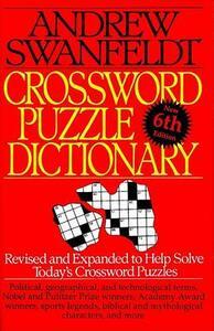 Crossword Puzzle Dictionary - Andrew Swanfeldt - cover