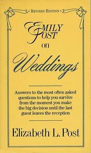 Emily Post on Weddings: Revised Edition - Elizabeth L. Post - cover
