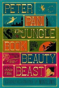 Illustrated Classics Boxed Set: Peter Pan, Jungle Book, Beauty and the Beast - J. M. Barrie,Rudyard Kipling,Gabrielle-Suzanna Barbot de Villenueve - cover