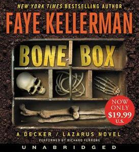 Bone Box [Unabridged CD] - Faye Kellerman - cover