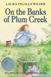 On the Banks of Plum Creek - Laura Ingalls Wilder - cover