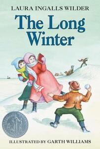 The Long Winter Unabridged - Laura Ingalls Wilder - cover