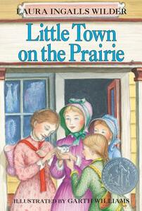 Little Town on the Prairie - Laura Ingalls Wilder - cover