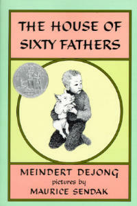 The House of Sixty Fathers - Meindert Dejong - cover