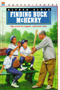 Finding Buck McHenry - Alfred Slote - cover