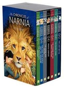 The Chronicles of Narnia - C. S. Lewis - cover