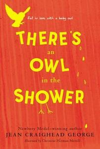 There's an Owl in the Shower - Jean Craighead George - cover