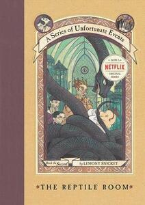 The Reptile Room - Lemony Snicket - cover