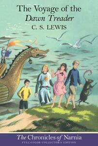 """The Voyage of the """"Dawn Treader"""" - C. S. Lewis - cover"""
