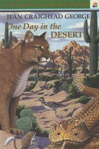 One Day in the Desert - Jean Craighead George - cover