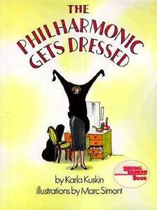 The Philharmonic Gets Dressed - Karla Kuskin - cover