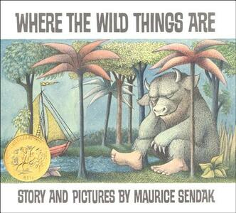 Where the Wild Things are - Maurice Sendak - cover