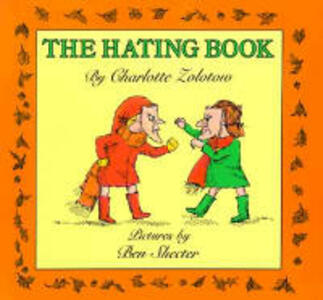 The Hating Book - Charlotte Zolotow - cover