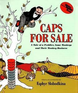 Caps for Sale Big Book - Esphyr Slobodkina - cover