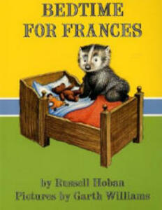 Bedtime for Frances - Russell Hoban - cover