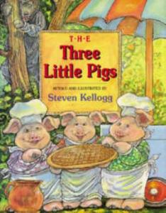 The Three Little Pigs - Steven Kellogg - cover