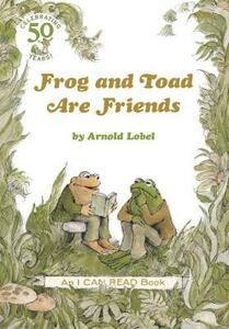 Frog and Toad are Friends - Arnold Lobel - cover