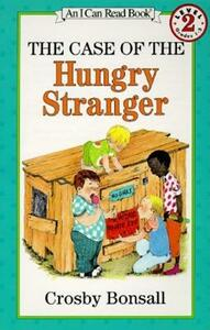 The Case of the Hungry Stranger - Crosby Bonsall - cover
