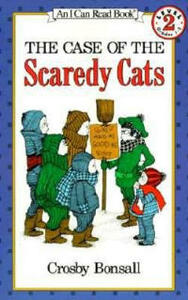 The Case of the Scaredy Cats - Crosby Bonsall - cover