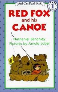 Red Fox and His Canoe - Benchley - cover
