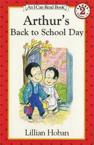 Arthur's Back to School Day - Lillian Hoban - cover