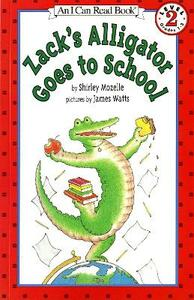 Zack's Alligator goes to School - Shirley Mozelle - cover