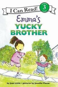 Emma's Yucky Brother Pb - Jean Little - cover