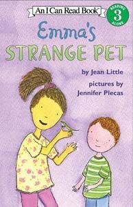 Emma's Strange Pet - Jean Little,Jennifer Plecas - cover