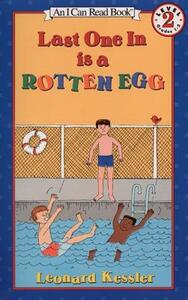 Last One in is a Rotten Egg - Kessler - cover