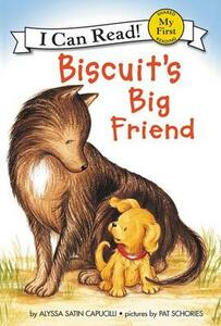 Biscuit's Big Friend - Alyssa Satin Capucilli - cover
