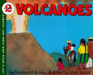Volcanoes - Franklyn M Branley - cover