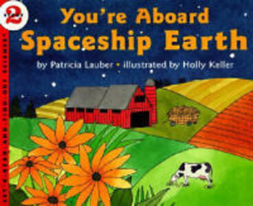 You're Aboard Spaceship Earth - Patricia Lauber - cover