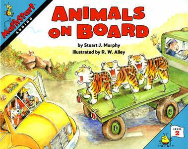 Animals on Board - Stuart J. Murphy - cover