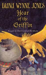 Year of the Griffin - Diana Wynne Jones - cover