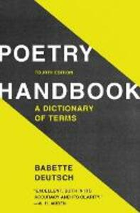 Poetry Handbook - Babette Deutsch - cover