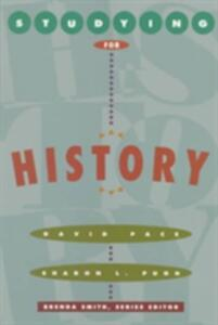 Studying For History - David Pace,Sharon L. Pugh,Brenda Smith - cover