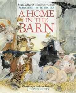 A Home in the Barn - Margaret Wise Brown - cover