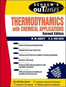 Schaum's Outline of Thermodynamics with Chemical Applications - Hendrick C. Van Ness,Michael M. Abbott - cover